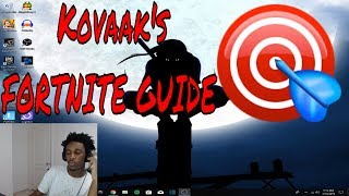 HOW TO SETUP KOVAAK'S AIM TRAINER WITH YOUR REAL FORTNITE SENSITIVITY
