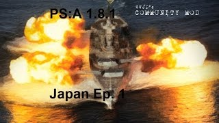 PS:A 1.8 Japan Ep 1