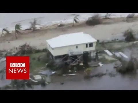 Hurricane Irma: Barbuda 'barely habitable' - BBC News