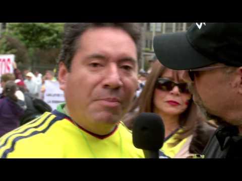 Santiago en la marcha contra la corrupción - La Tele Letal