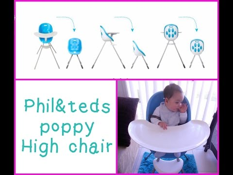 Review – Phil&Teds Poppy Highchair