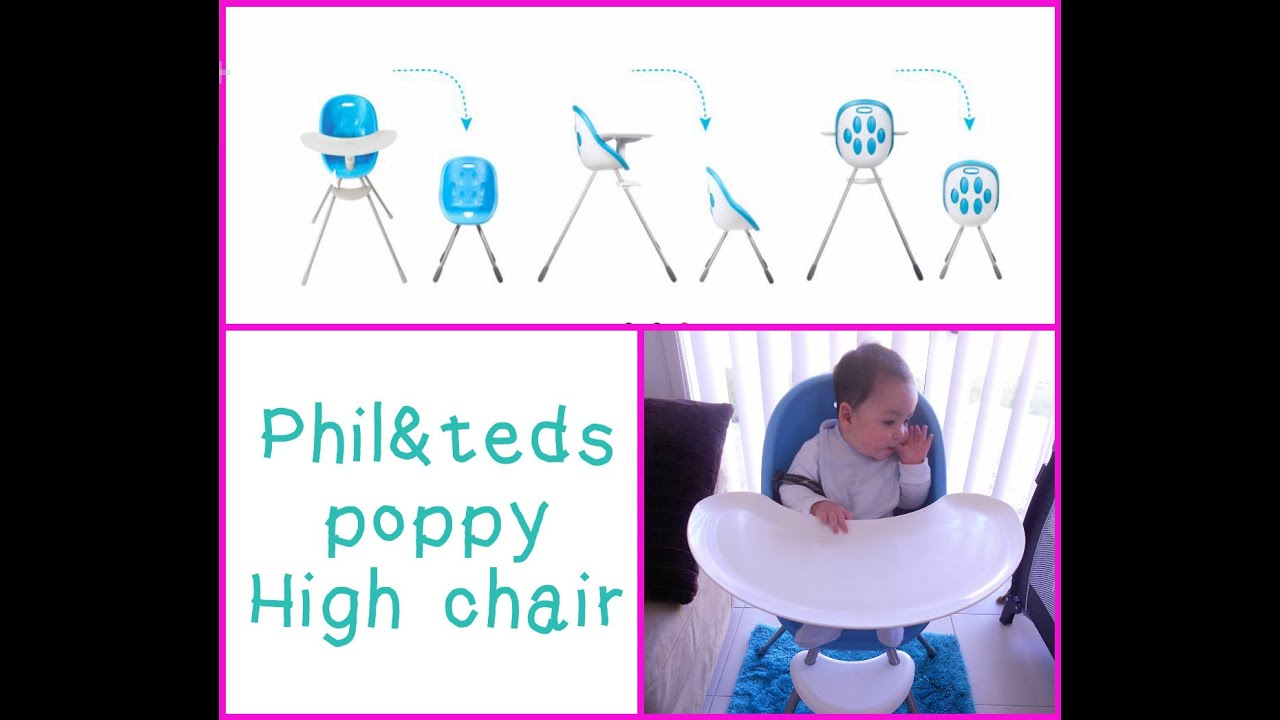 Phil Teds Poppy High Chair Plastic School Chairs Review Andteds Highchair Youtube