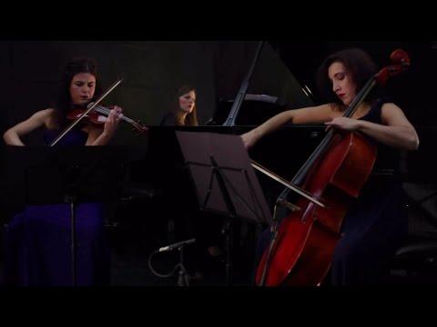 """Trio Carducci plays Rachmaninoff Piano Trio """"élégiaque"""" No. 1"""