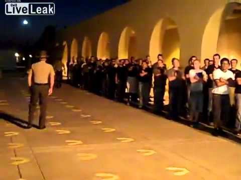 Your first 5 minutes at Marine Corps Recruit Depot - San Diego