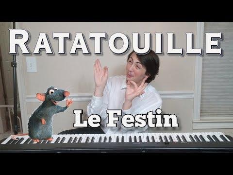 Le Festin From Ratatouille ( PIANO COVER ) [ Arrangement By Teagan Nusbaum ]