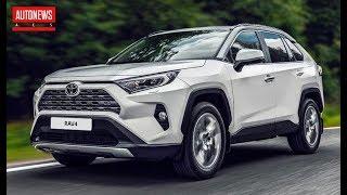 Новая Toyota RAV4 в России: цены и комплектации