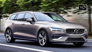 2019 Volvo V60 T6 AWD Momentum Wagon Exterior Interior Design & Driving Footage HD
