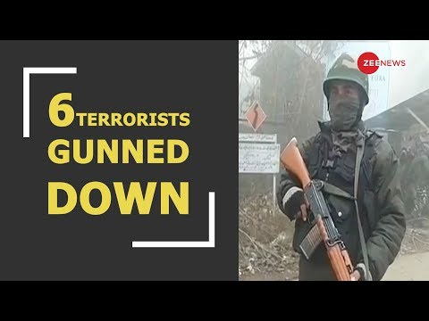 BREAKING: 6 terrorists killed in encounter in Jammu and Kashmir's Anantnag