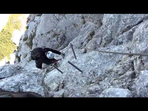 Eisenerzer Klettersteig : Besteigung des pfaffenstein über den eisenerzer klettersteig c d