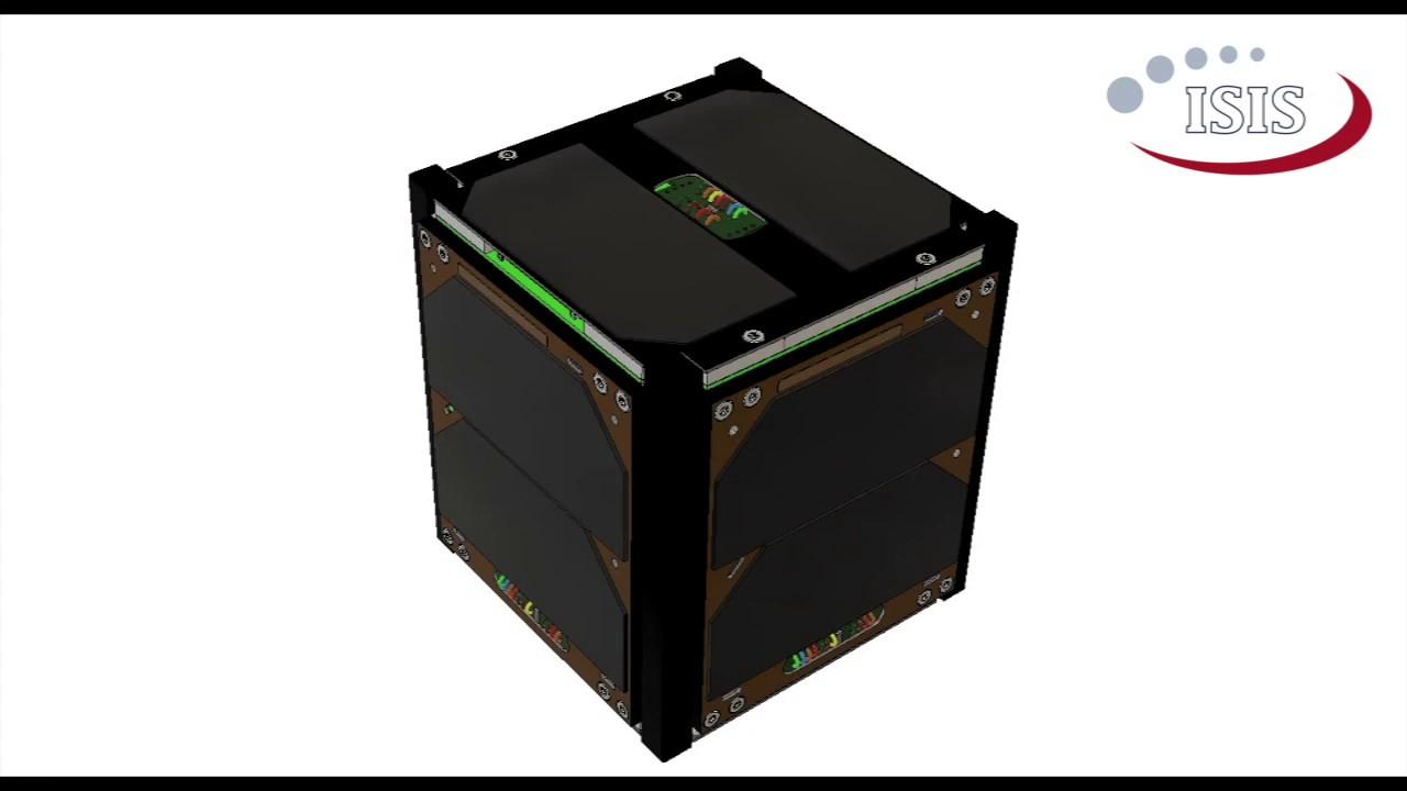 1U CubeSat Platform   ISIS - Innovative Solutions in Space