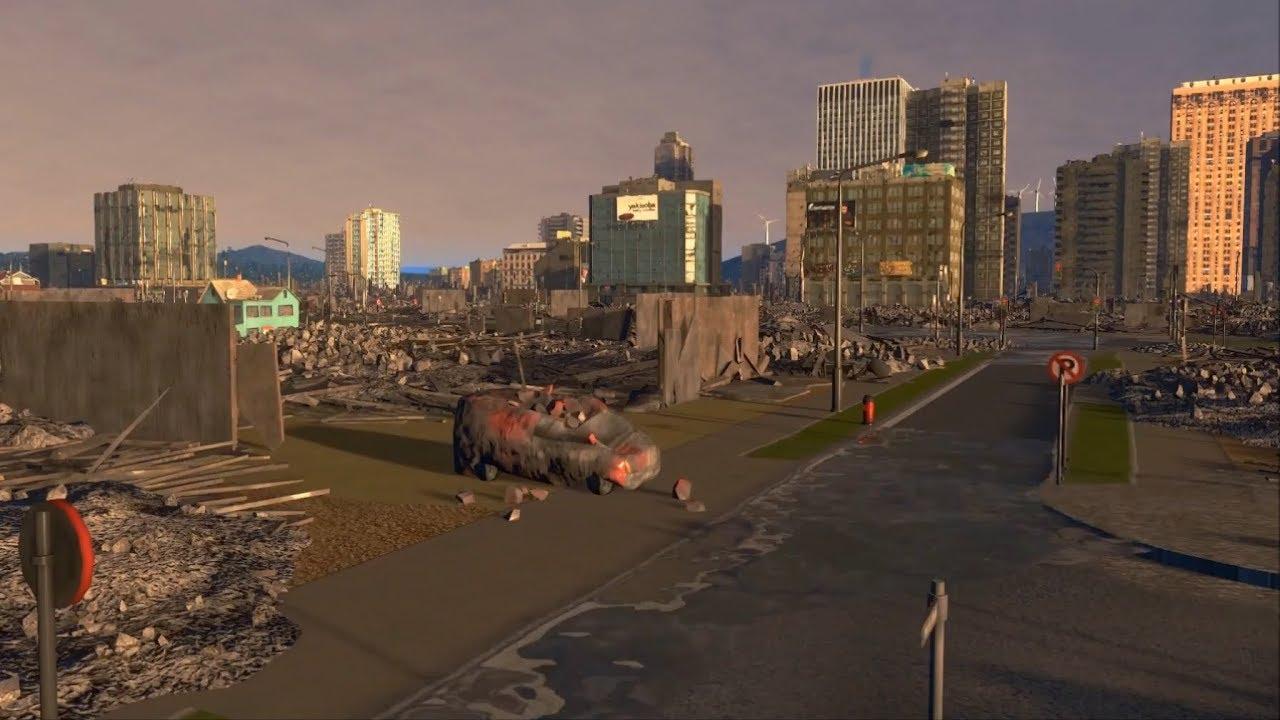 city skylines tsunami youtube