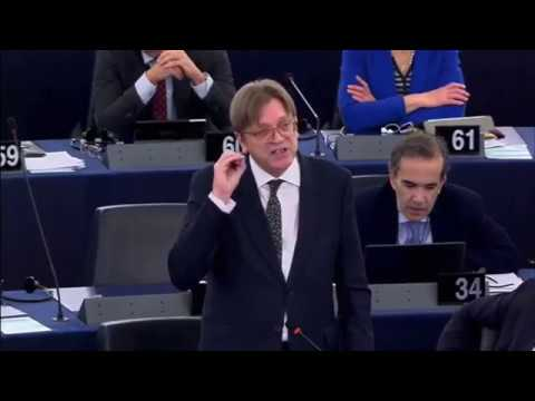 Guy Verhofstadt 05 Apr 2017 plenary speech on BREXIT Negotiations with the UK