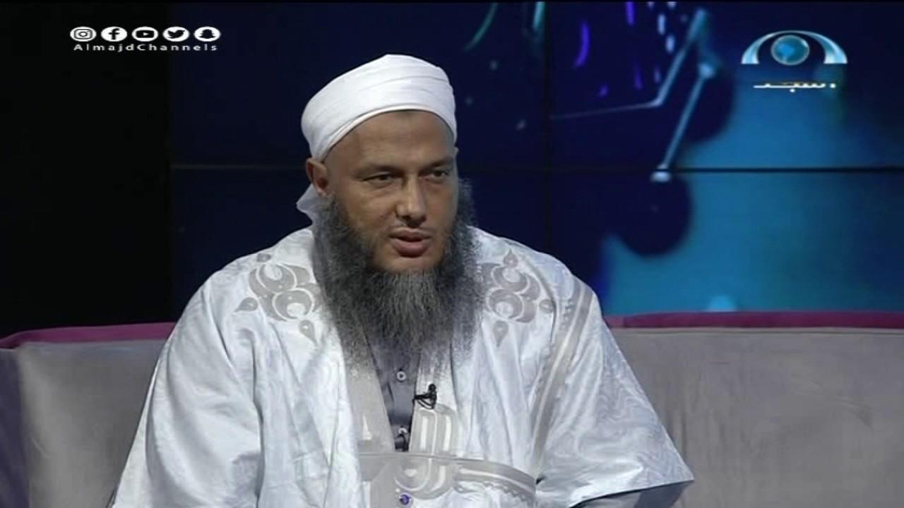 شاهد أسرار لم تعرف من قبل عن ش.محمد الددو الشنقيطي في برنامج سر