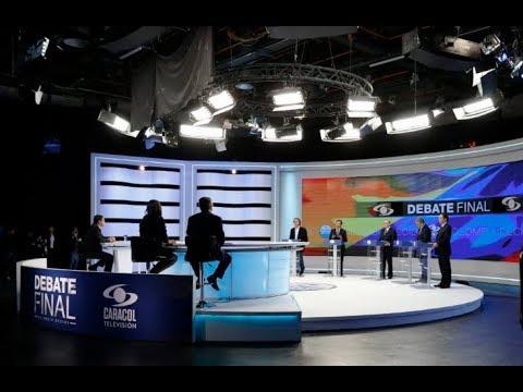 En VIVO: Debate presidencial Colombia Decide | Noticias Caracol