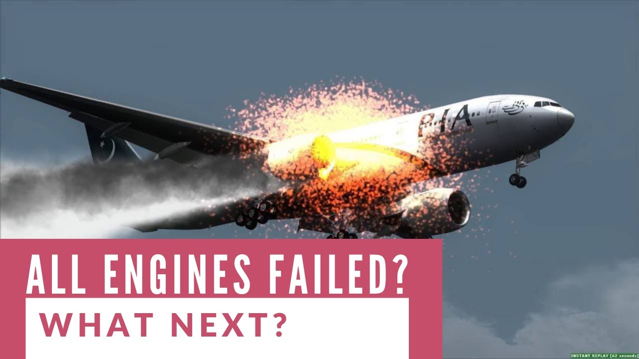 ✅ What if all the Engines Fail on a Plane? Would it crash?