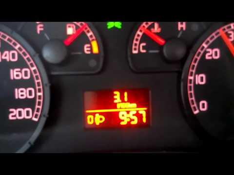 Фиат Добло 1,9 макси, расход топлива по компу!!!
