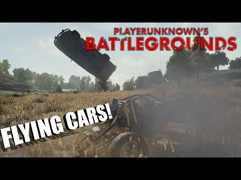 PLAYERUNKNOWN'S BATTLEGROUNDS | FLYING CARS!