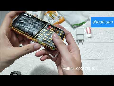 Download Hướng Dẫn Sử Dụng Loa Craven CR-853 - 3 Pin, Hát Thẻ Nhớ, USB, Cách Dò Đài FM Radio | shopthuan