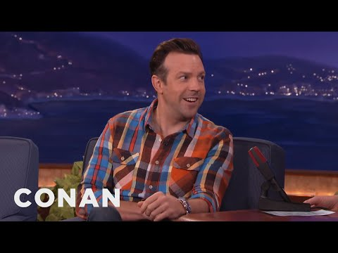 Jason Sudeikis' Surprising Tale Of Being Mistaken For Ed Helms  - CONAN on TBS