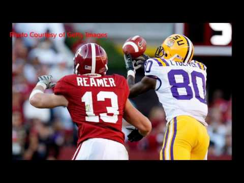 Cory Reamer looks back on his playing career at Alabama
