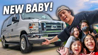 I JUST BOUGHT MY FIRST VAN!! (Bagong Baby!!) | Ranz and Niana