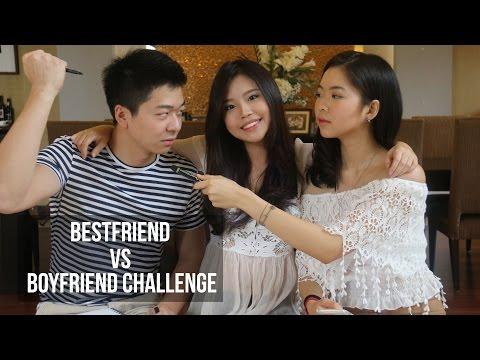 Best friend vs Boyfriend Challenge   Titan Tyra