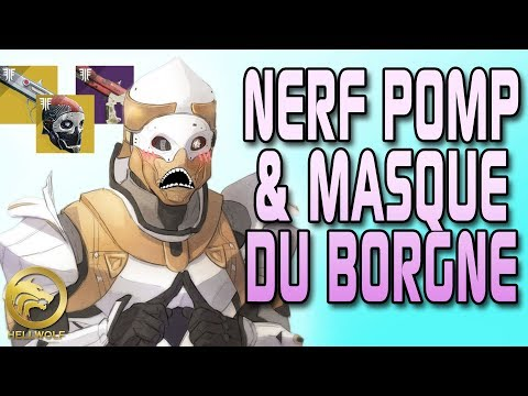 Destiny 2 - NERF POMP & MASQUE DU BORGNE ! Saison du Vagabond, Sturm Update & Sandbox thumbnail