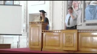 ИТС - речь на выпускном