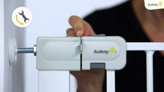 Safety 1st Simply Close Installation Video- Suitable For Extra Tall, Deco And Wood & Metal Gates