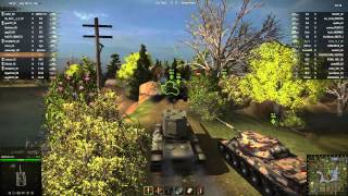 world of tanks ct 7 3 tests kv 1 122mm   kv 2 half stock   lefh18b2