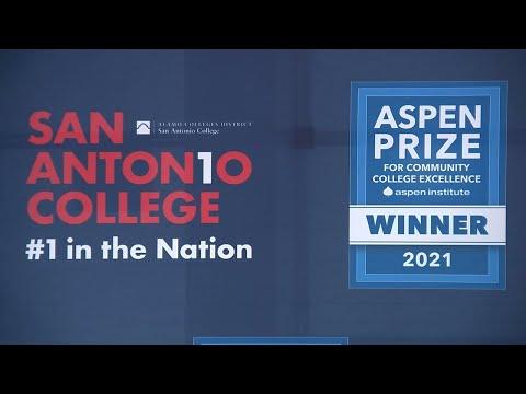 San Antonio College receives prestigious national award