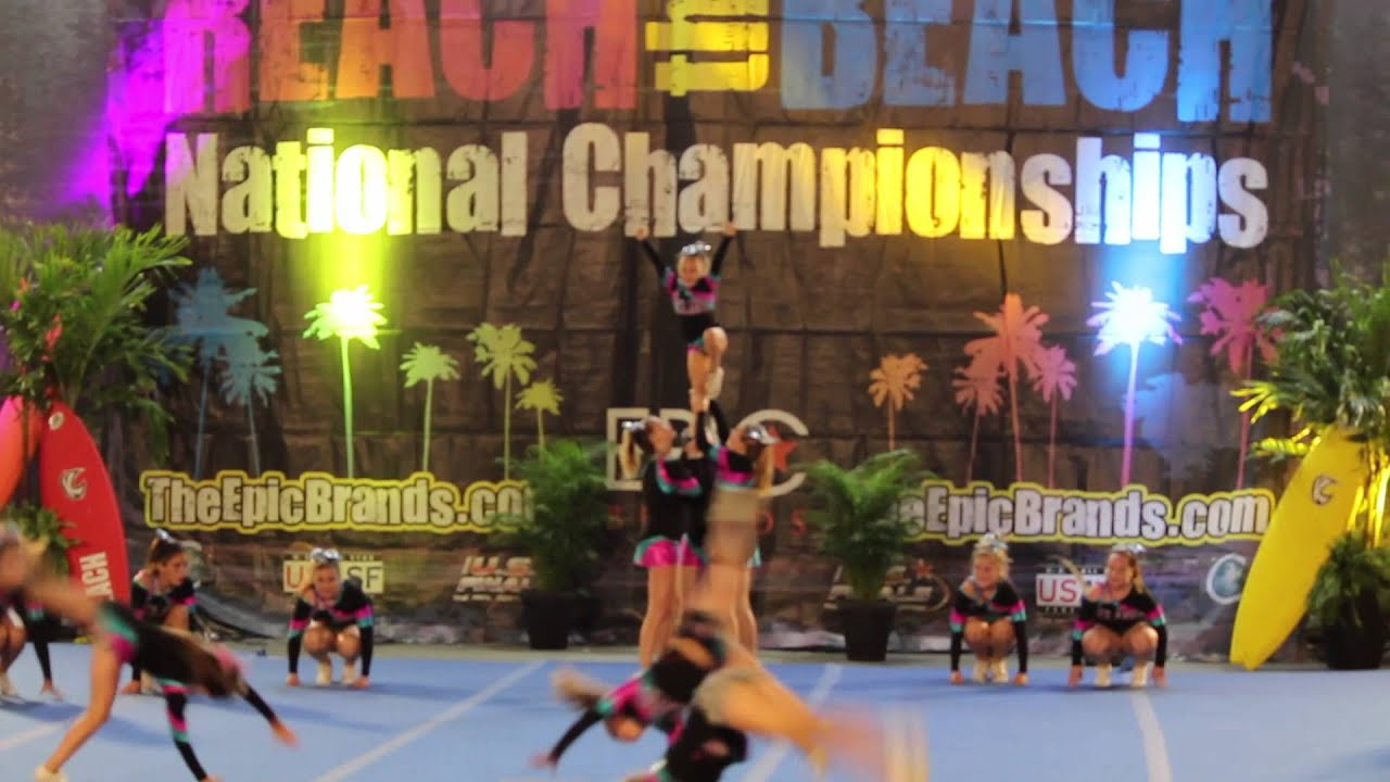 Reach The Beach Cheer Compeion