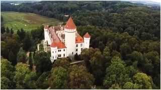 видео Экскурсии в замок Конопиште (Чехия), отзывы. Конопиште и Карлштейн
