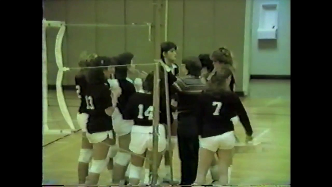 NCCS - Saranac Lake Volleyball part one  12-4-85
