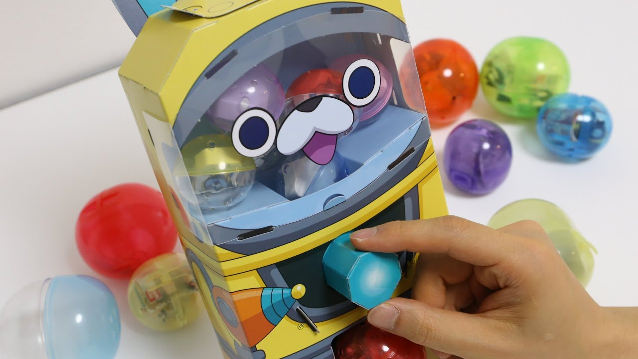 Papercraft Yo-Kai Watch Gacha Paper Craft Capsule Toy ~ 妖怪ウォッチ 妖怪ガシャ