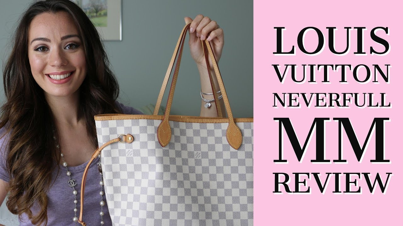 LOUIS VUITTON NEVERFULL MM REVIEW - YouTube 5910ade895