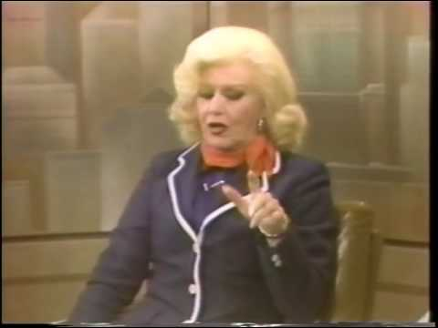 Ginger Rogers, Pia Lindstrom--1980 TV Interview