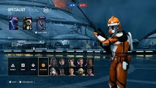 PHASE 1 BOMB SQUAD SHOWCASE - Star Wars Battlefront 2