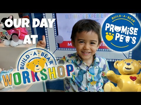 BUILD-A-BEAR visit! PROMISE PETS Trafford Centre Manchester