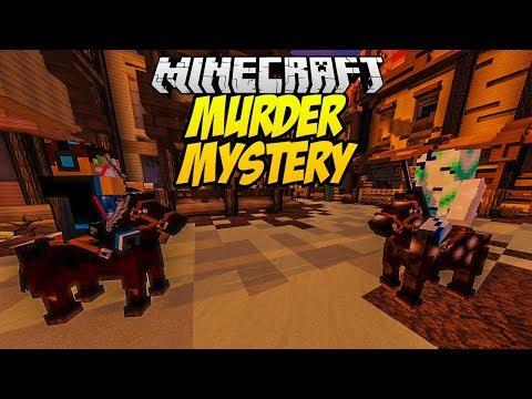 BARDZO PRZYJAZNY MORDERCA?! MINECRAFT MURDER MYSTERY #17 thumbnail