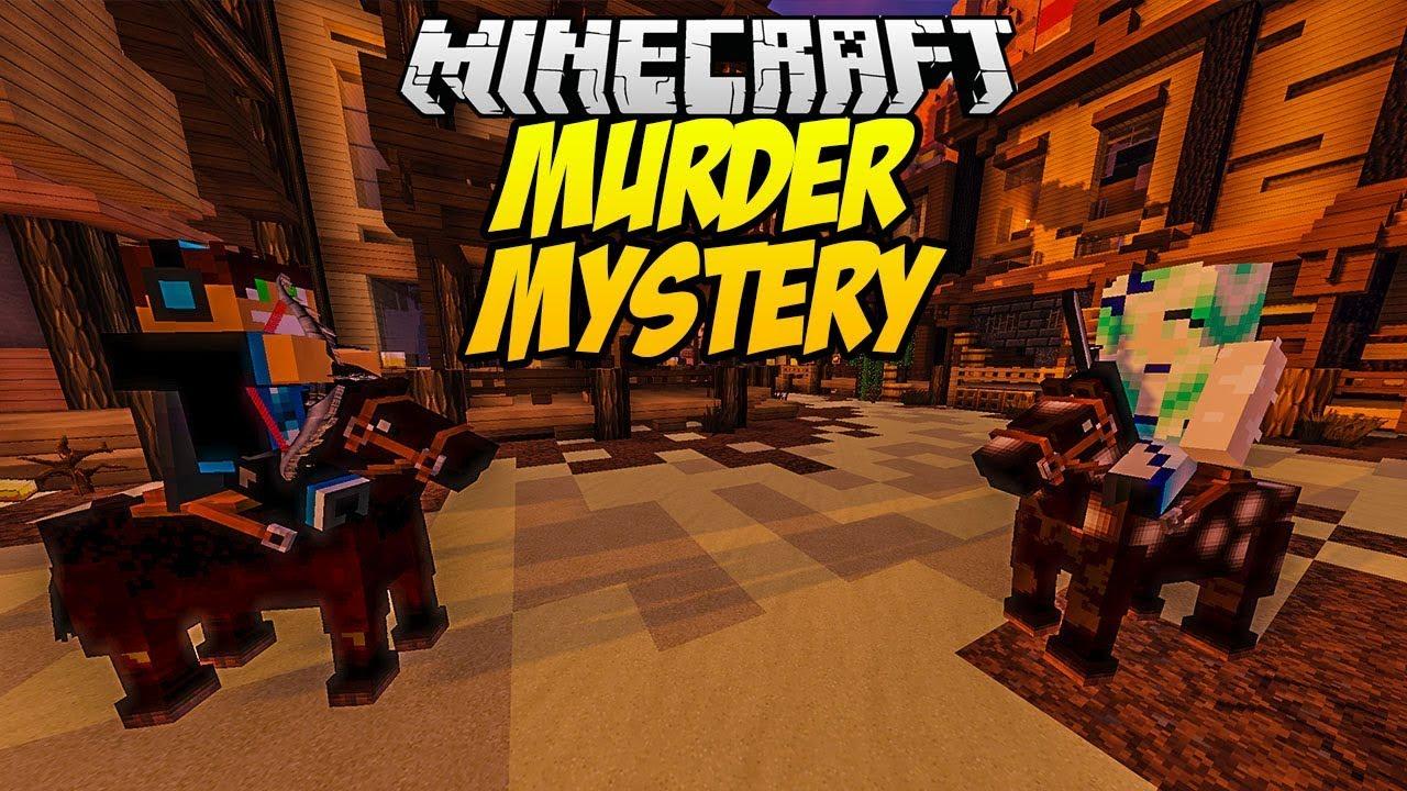 BARDZO PRZYJAZNY MORDERCA?! MINECRAFT MURDER MYSTERY #17