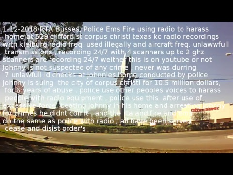 Nueces county Texas LAW Enforcement RTA Fire Police EMS  radio reception Live Stream