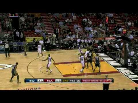 Miami Heat vs Indiana Pacers (113 - 83) January 19, 2010