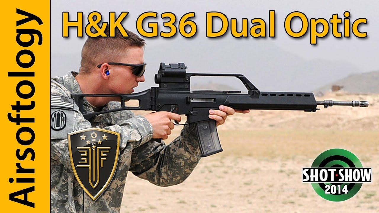 Dual Optics   HK G36   Elite Force   SHOT Show 2014