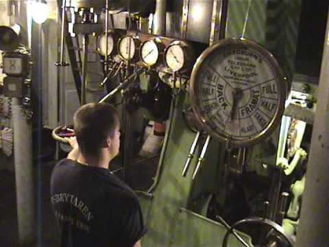 S/s Sankt Erik Forward Engine Room