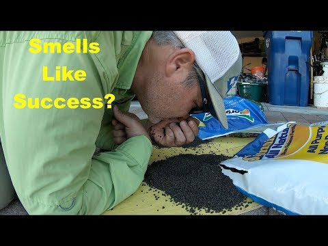 Sunniland All Natural Fertilizer | Does It Smell Like Success? - YouTube