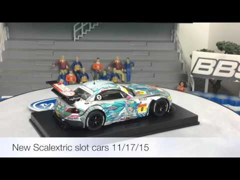 New Scalextric 1/32 slot car releases purchased at Cincyslots