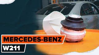 Montaje Caja Cojinete Rueda MERCEDES-BENZ E-CLASS: vídeo manual
