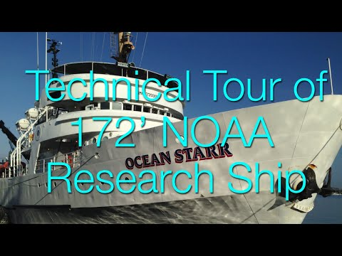R/V Ocean Starr, 172' Expedition Yacht conversion of former NOAA Research ship is for sale