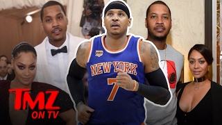 Carmelo and Lala Anthony: There's A Prenup! | TMZ TV